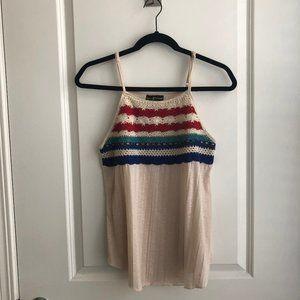 Colorful Crochet Tank